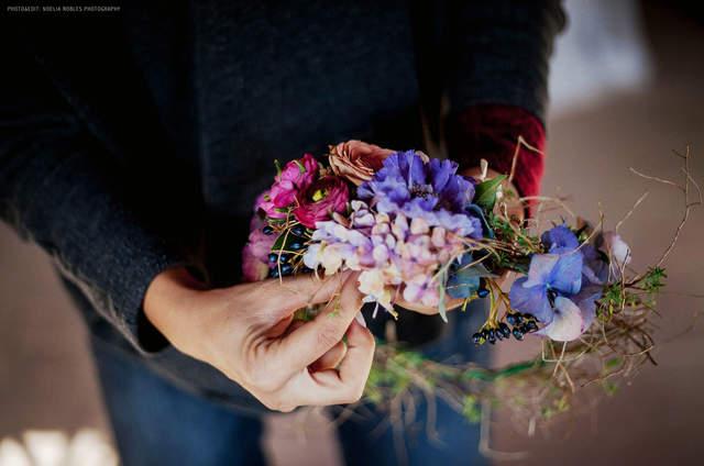 Go floral