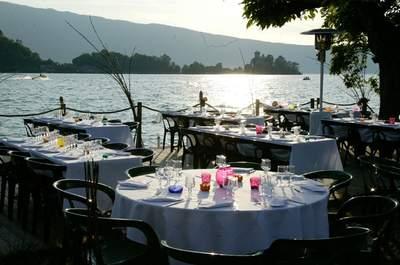 Restaurant L'abri-côtier | Espace lac