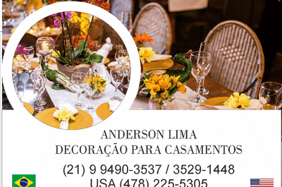 Anderson Lima - Design de Eventos
