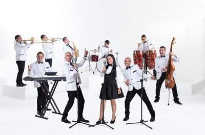 Los de La Noche-Banda en Vivo Cartagena