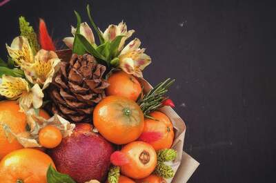 СВЕЖО- букеты из фруктов и овощей