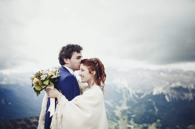 Wedding in Cortina
