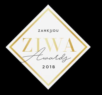 Gagnant du Zankyou Wedding Award 2018